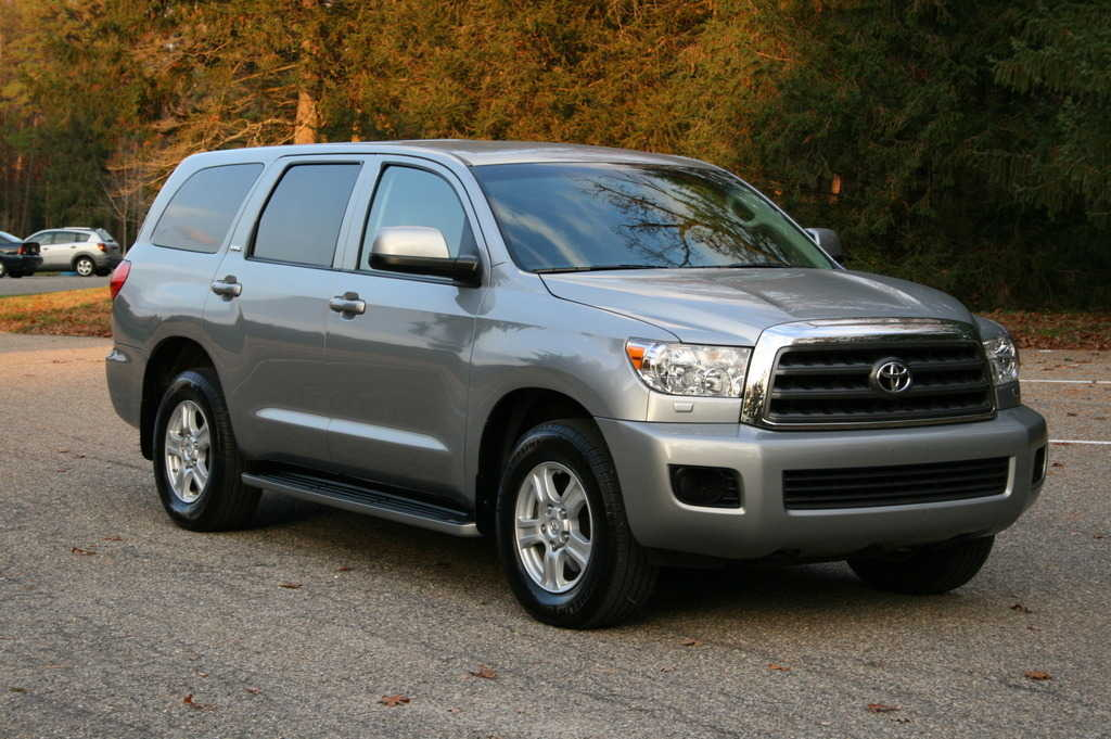 2009 toyota sequoia pictures 4700cc gasoline automatic for sale. Black Bedroom Furniture Sets. Home Design Ideas