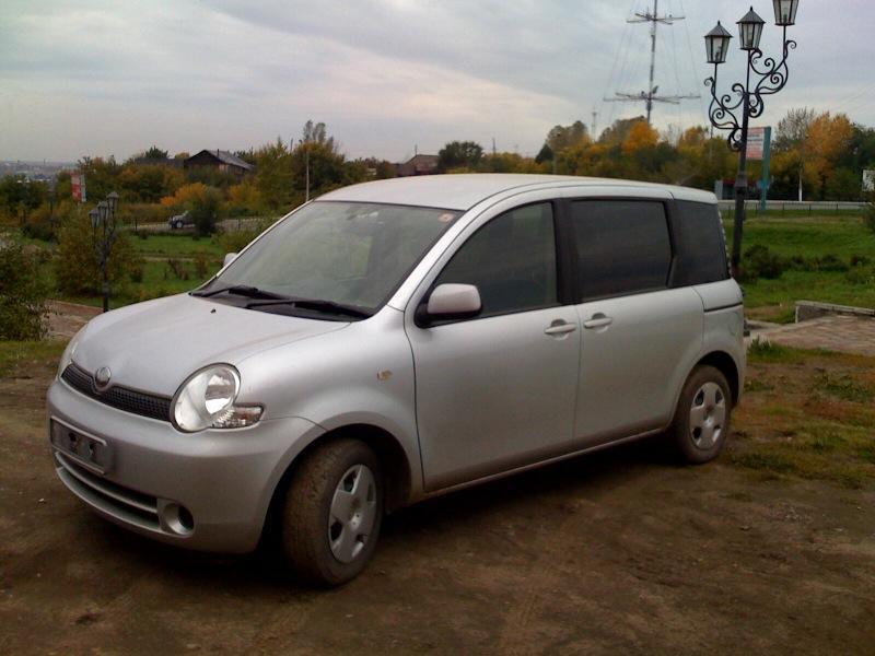 2003 Toyota Sienta Pictures, 1.5l., Gasoline, FF, CVT For Sale