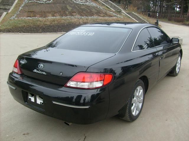 Toyota Solara A B Orig on Toyota Camry 1999 Parts