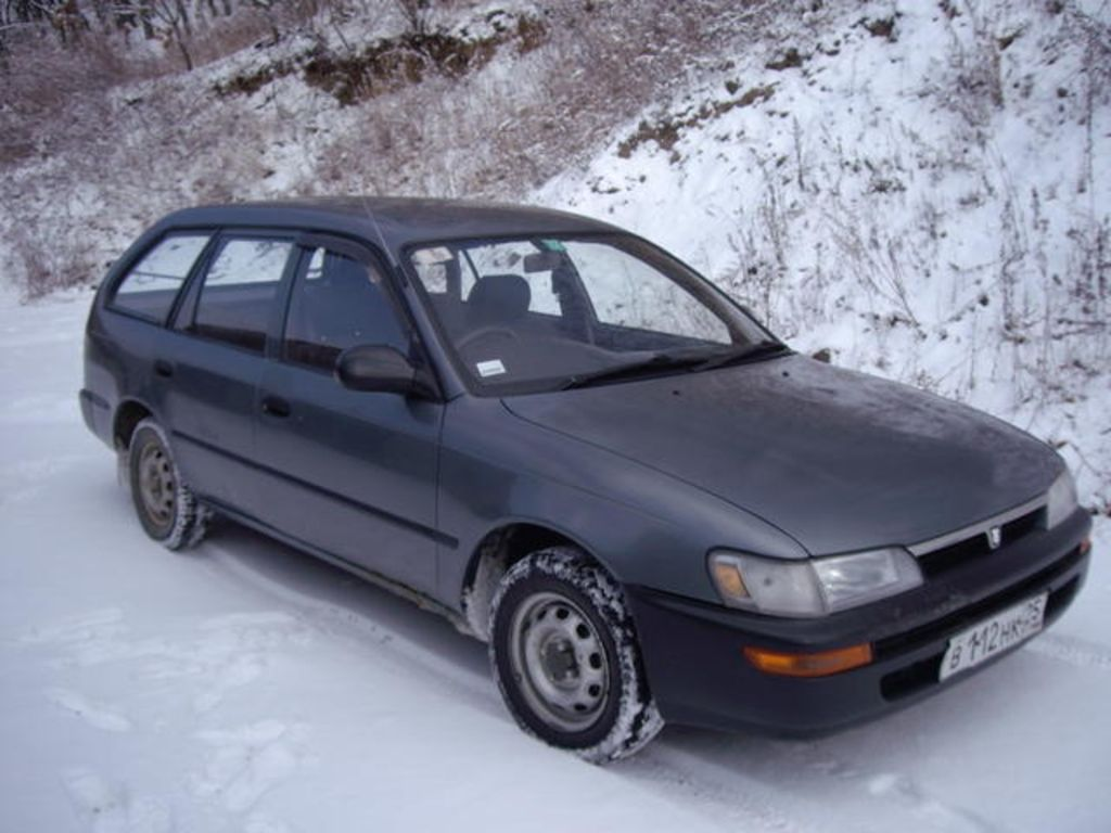 Тойота спринтер 1991 фото