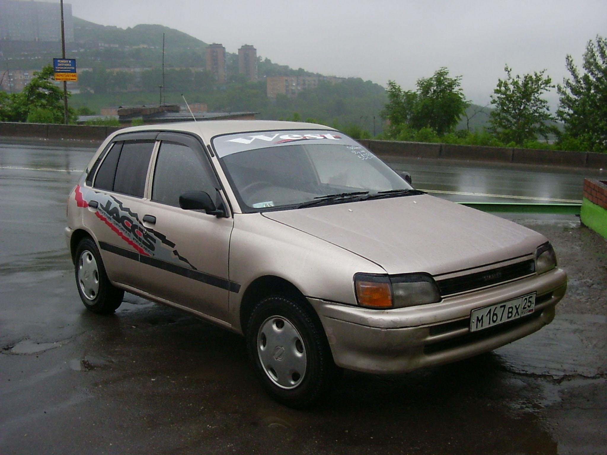 Toyota Starlet 1978 1980 Hier Wurde Ein Der Ersten Serie Image