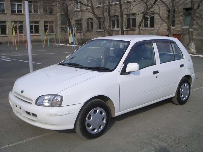 1998 toyota starlet pictures 1300cc gasoline automatic for sale