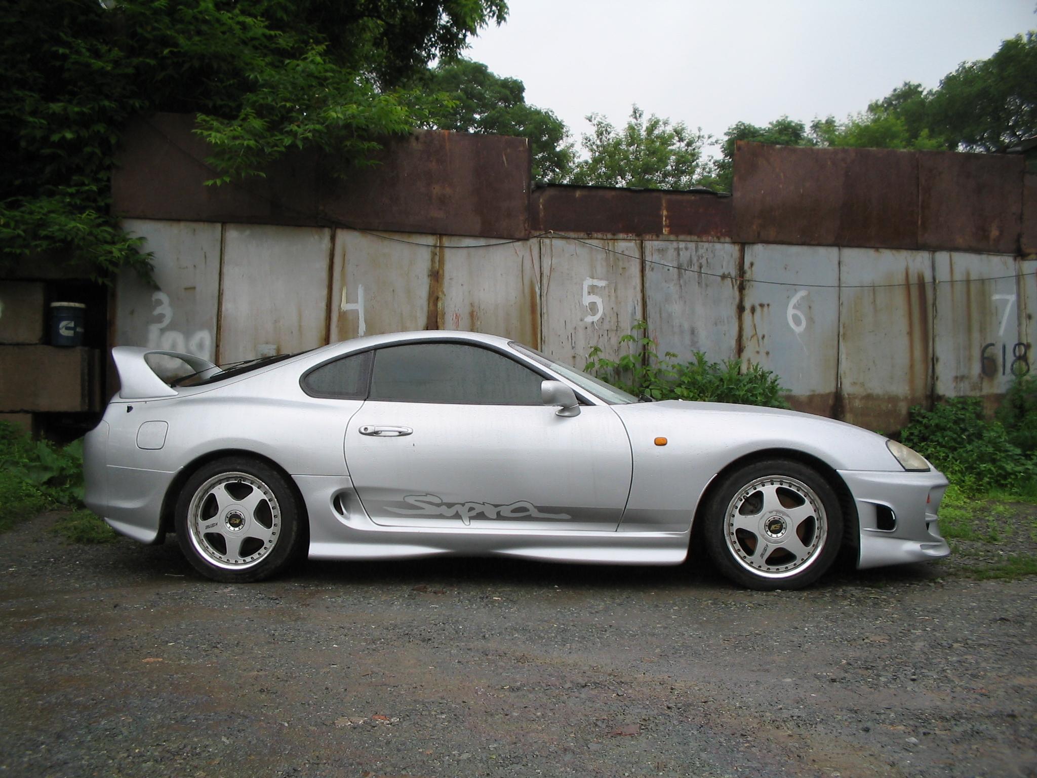 1994 Toyota Supra Pictures 3000cc Gasoline Fr Or Rr