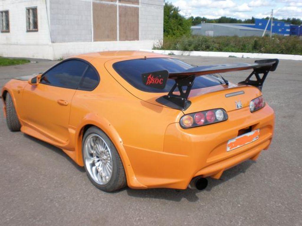 1995 Toyota Supra Pictures 3000cc Gasoline Fr Or Rr