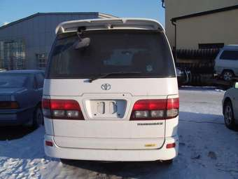 2001 Toyota Touring Hiace Pictures