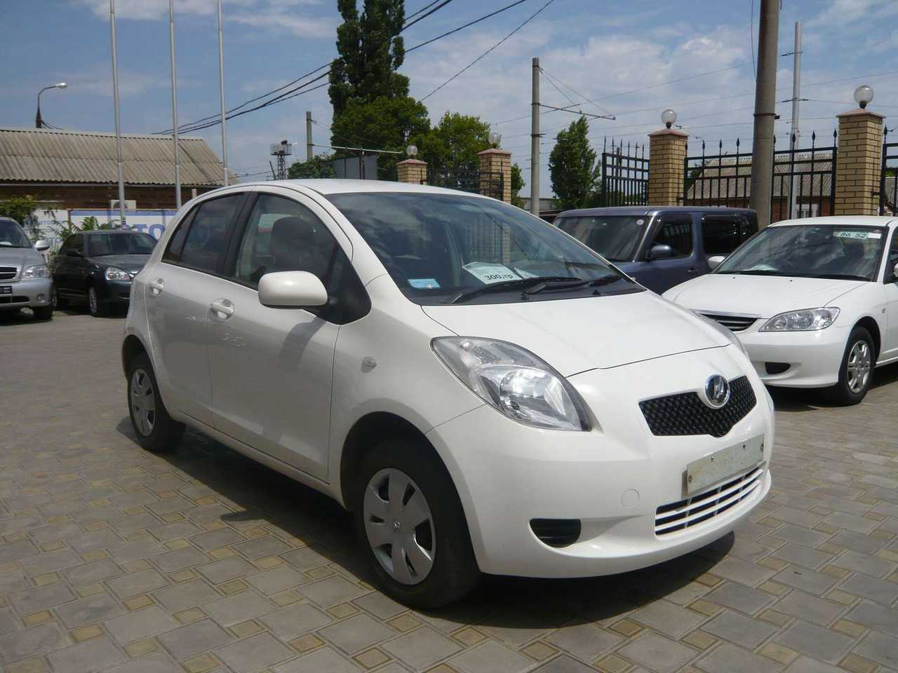 2005 Toyota Vitz Pictures 1300cc Gasoline Ff Automatic For Sale Avalon Wiring Harness