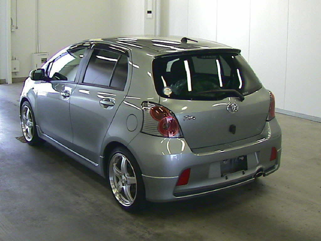 used 2007 toyota vitz photos 1500cc gasoline ff. Black Bedroom Furniture Sets. Home Design Ideas