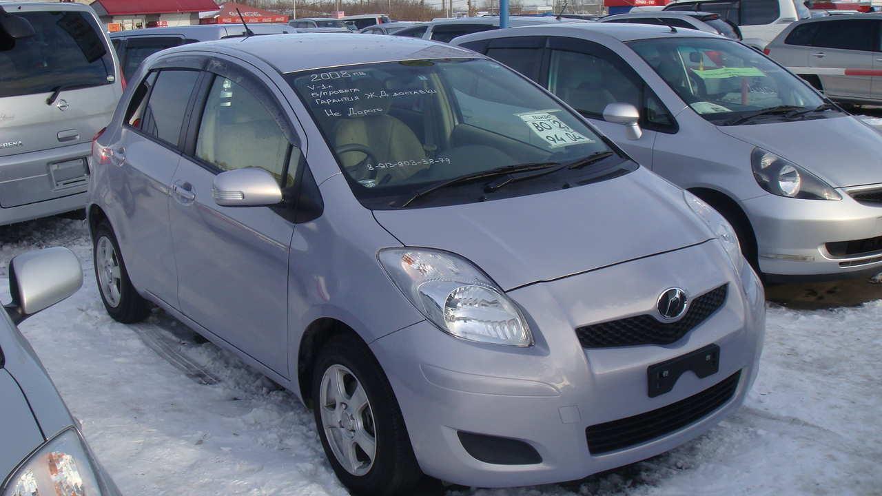 2008 Toyota Vitz Pics 10 Gasoline Ff Automatic For Sale Fuse Box Photo 1 Enlarge 1280x720