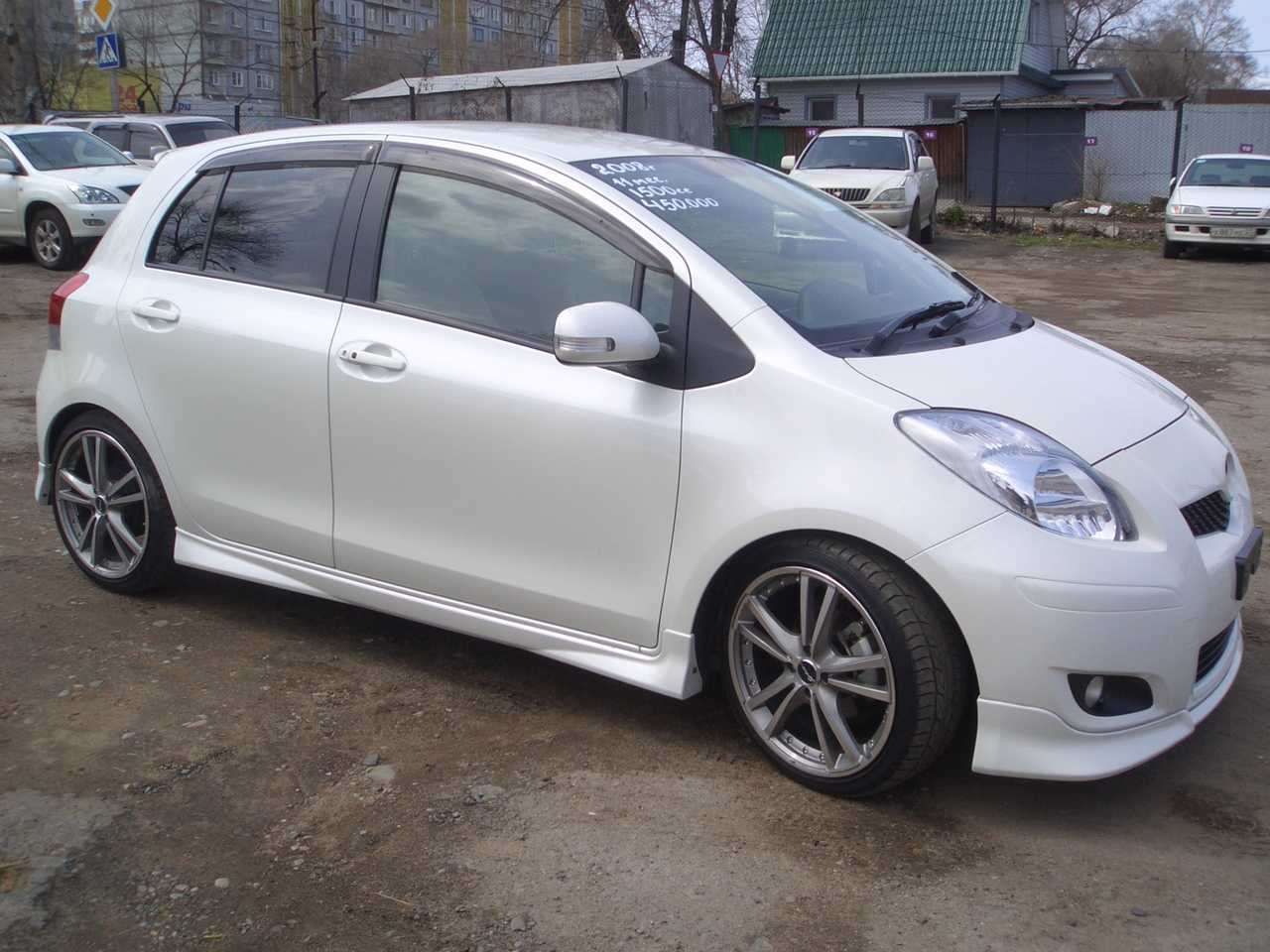 2008 toyota vitz wallpapers 1 5l gasoline ff cvt for sale