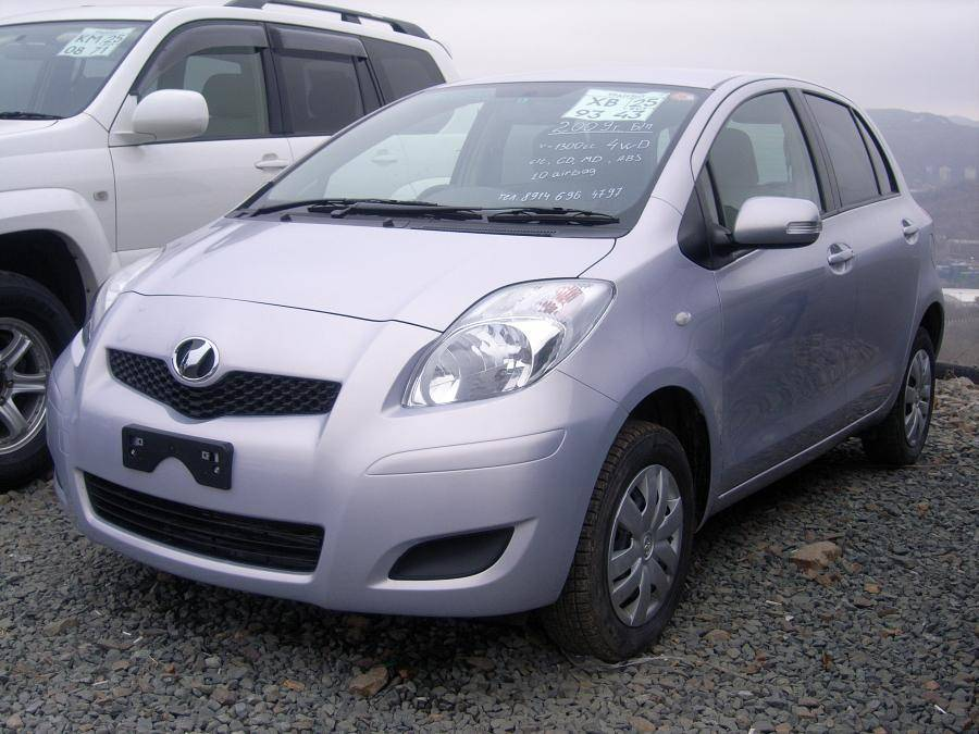 used 2009 toyota vitz photos 1300cc gasoline automatic. Black Bedroom Furniture Sets. Home Design Ideas