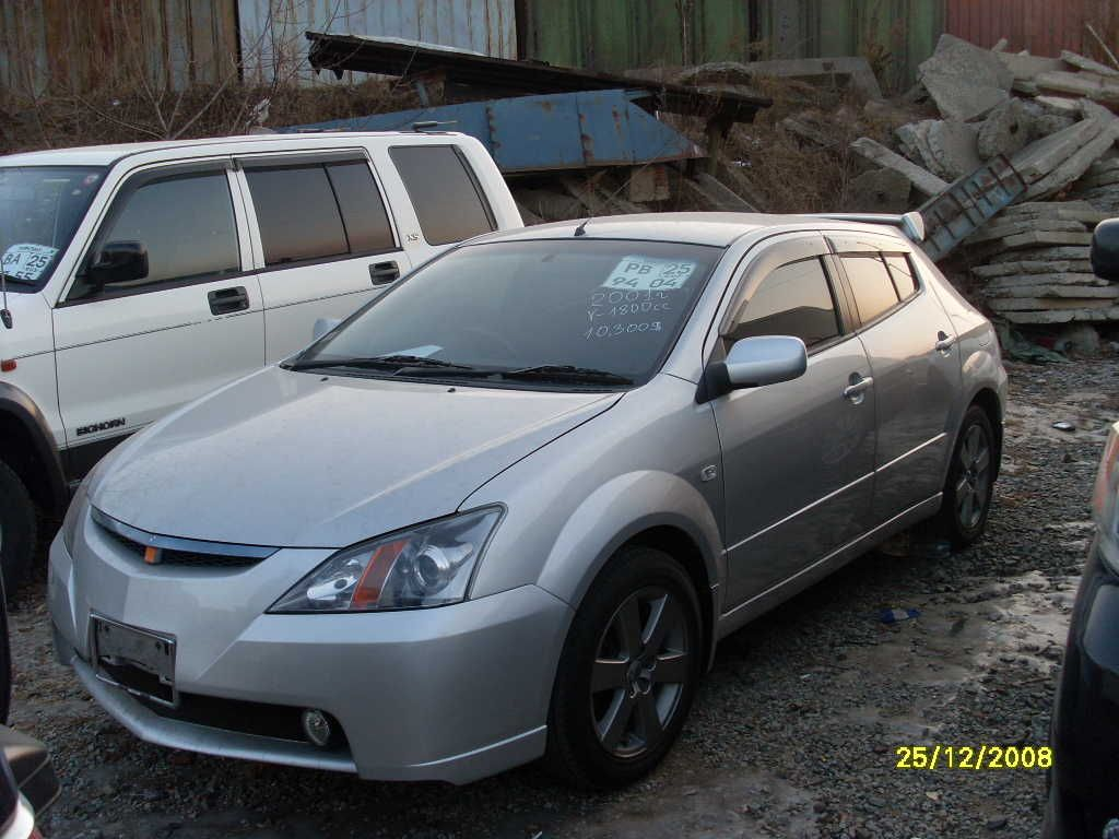 2001 Toyota WILL VS Pictures, 1800cc., Automatic For Sale