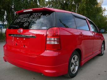 2003 toyota wish for sale 1800cc gasoline ff. Black Bedroom Furniture Sets. Home Design Ideas