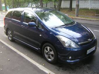 used 2003 toyota wish photos 1794cc gasoline ff automatic for sale. Black Bedroom Furniture Sets. Home Design Ideas