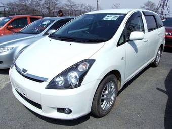 2004 toyota wish pictures 1800cc gasoline ff. Black Bedroom Furniture Sets. Home Design Ideas