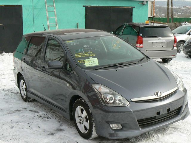 2005 toyota wish pictures. Black Bedroom Furniture Sets. Home Design Ideas
