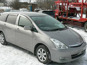 2005 toyota wish photos 1 8 gasoline ff automatic for sale. Black Bedroom Furniture Sets. Home Design Ideas