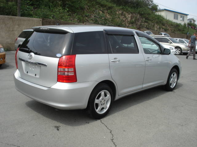 2005 toyota wish pictures gasoline automatic for sale. Black Bedroom Furniture Sets. Home Design Ideas