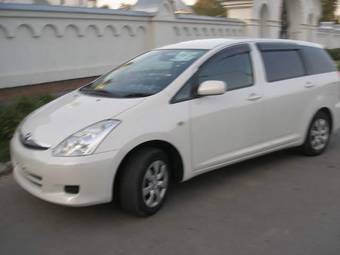 2006 toyota wish pictures gasoline automatic for sale. Black Bedroom Furniture Sets. Home Design Ideas