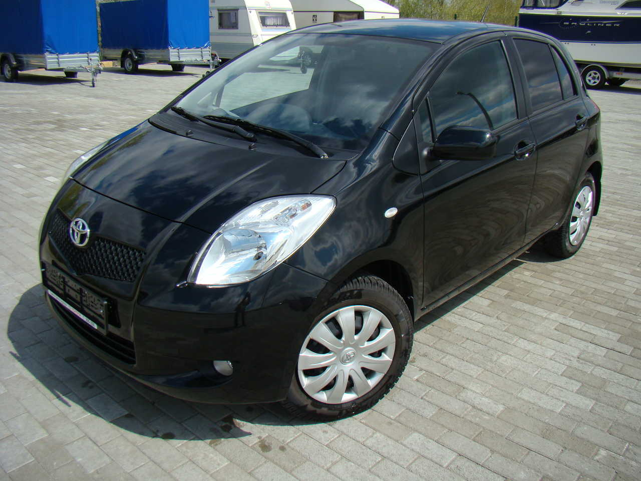2008 toyota yaris pictures 1298cc gasoline ff automatic for sale. Black Bedroom Furniture Sets. Home Design Ideas