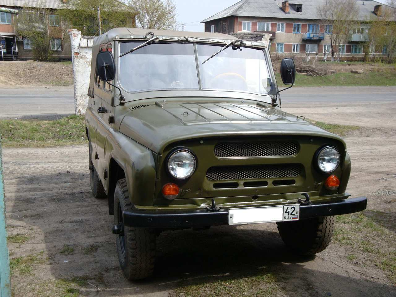 1973 uaz 469 photos 1 5 gasoline manual for sale. Black Bedroom Furniture Sets. Home Design Ideas