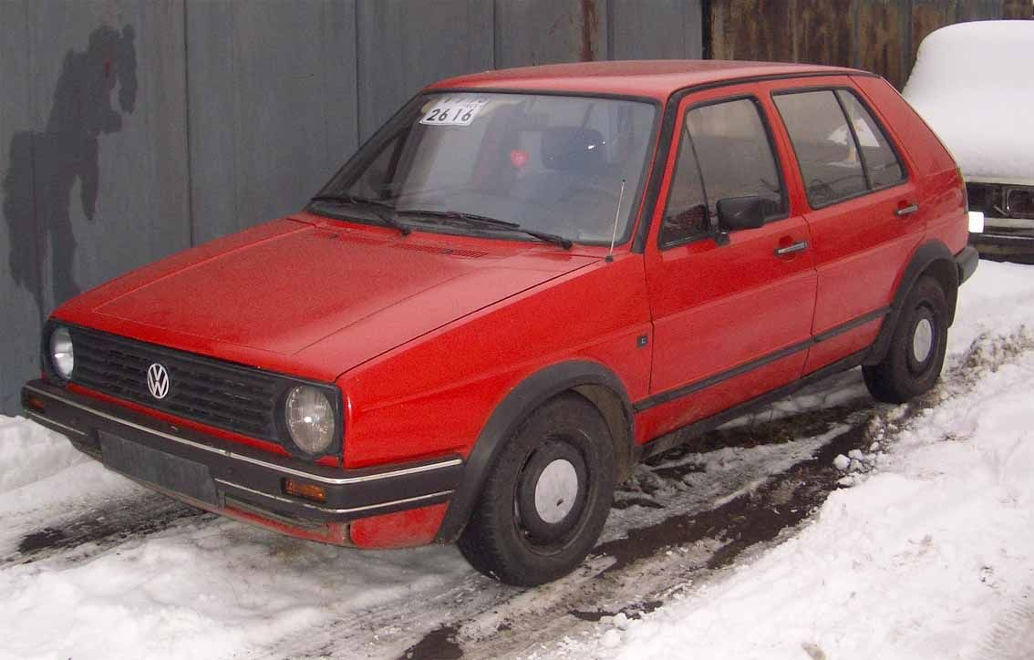 1986 volkswagen golf 2 pictures 1800cc gasoline ff. Black Bedroom Furniture Sets. Home Design Ideas