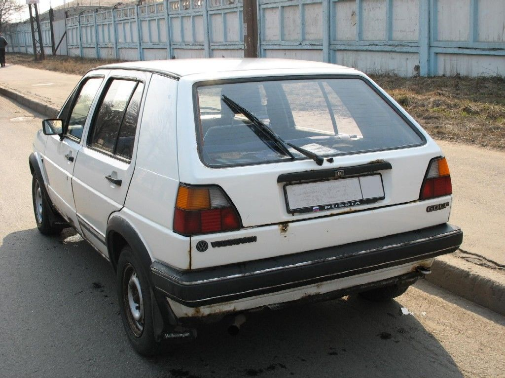 1987 Volkswagen GOLF 2 Pictures