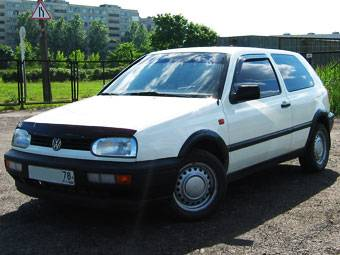 1994 volkswagen golf 3 pics 1 4 gasoline ff manual for sale. Black Bedroom Furniture Sets. Home Design Ideas