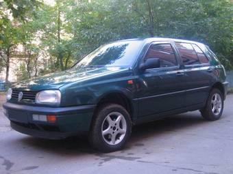1996 Volkswagen GOLF 3 specs, Engine size 1.8l., Fuel type ...