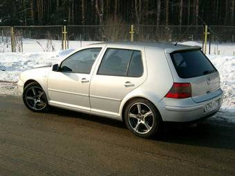 2000 Volkswagen GOLF 4 Photos, 2.3, Gasoline, FF, Automatic For Sale