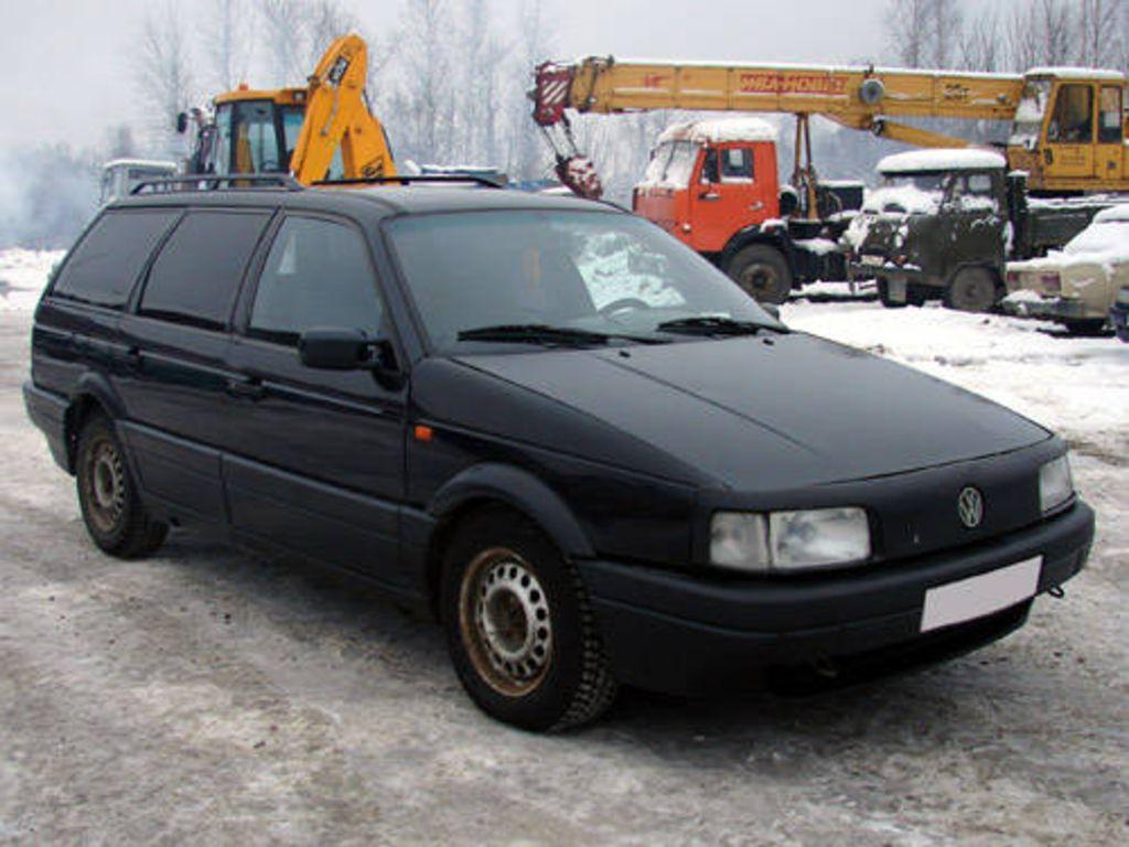 Photo 1 enlarge photo 1024x768 1990 volkswagen passat pictures