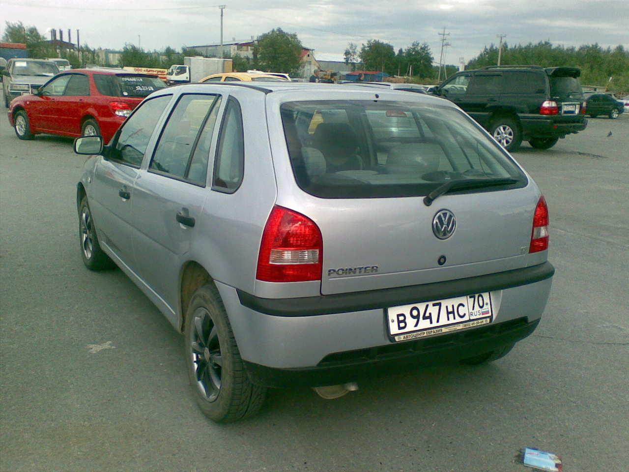 2005 Volkswagen Pointer Pictures, 1.8l., Gasoline, FF, Manual For Sale