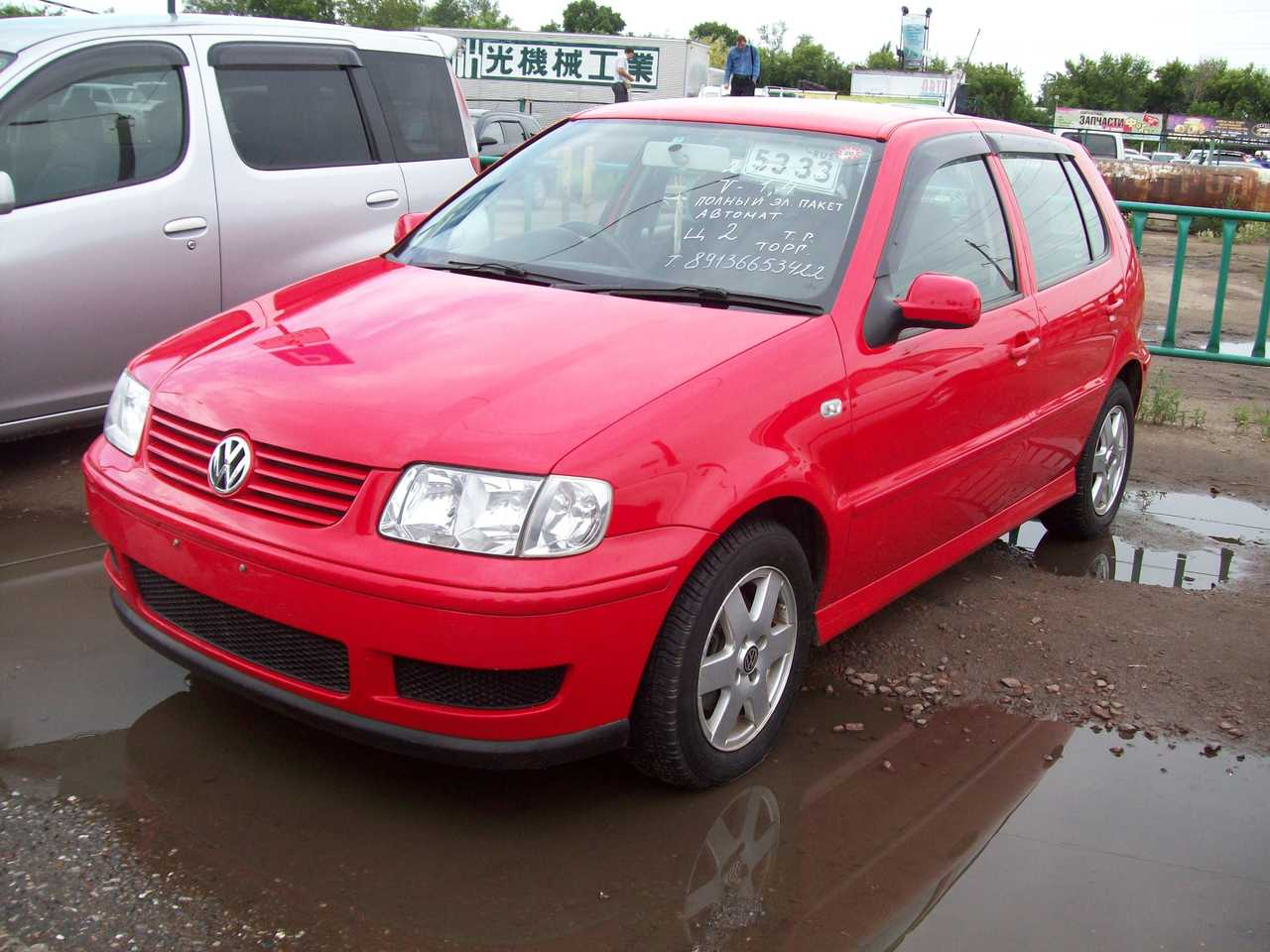 2001 volkswagen polo pictures 1400cc automatic for sale. Black Bedroom Furniture Sets. Home Design Ideas