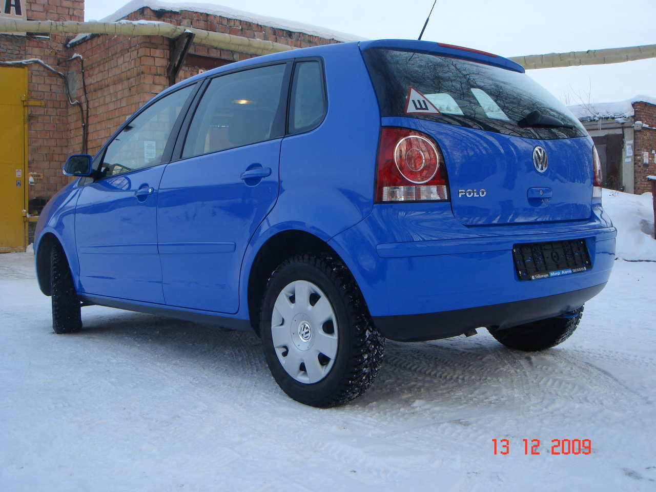 2008 Volkswagen Polo Pictures 1 4l Gasoline Ff