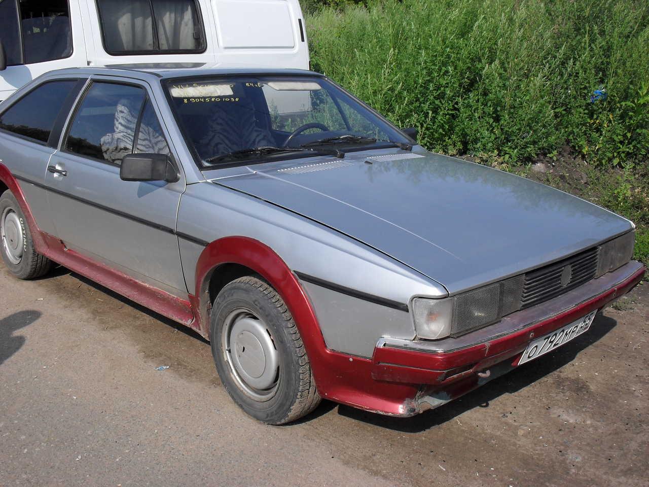 1984 Volkswagen Scirocco Pictures, 1800cc. For Sale