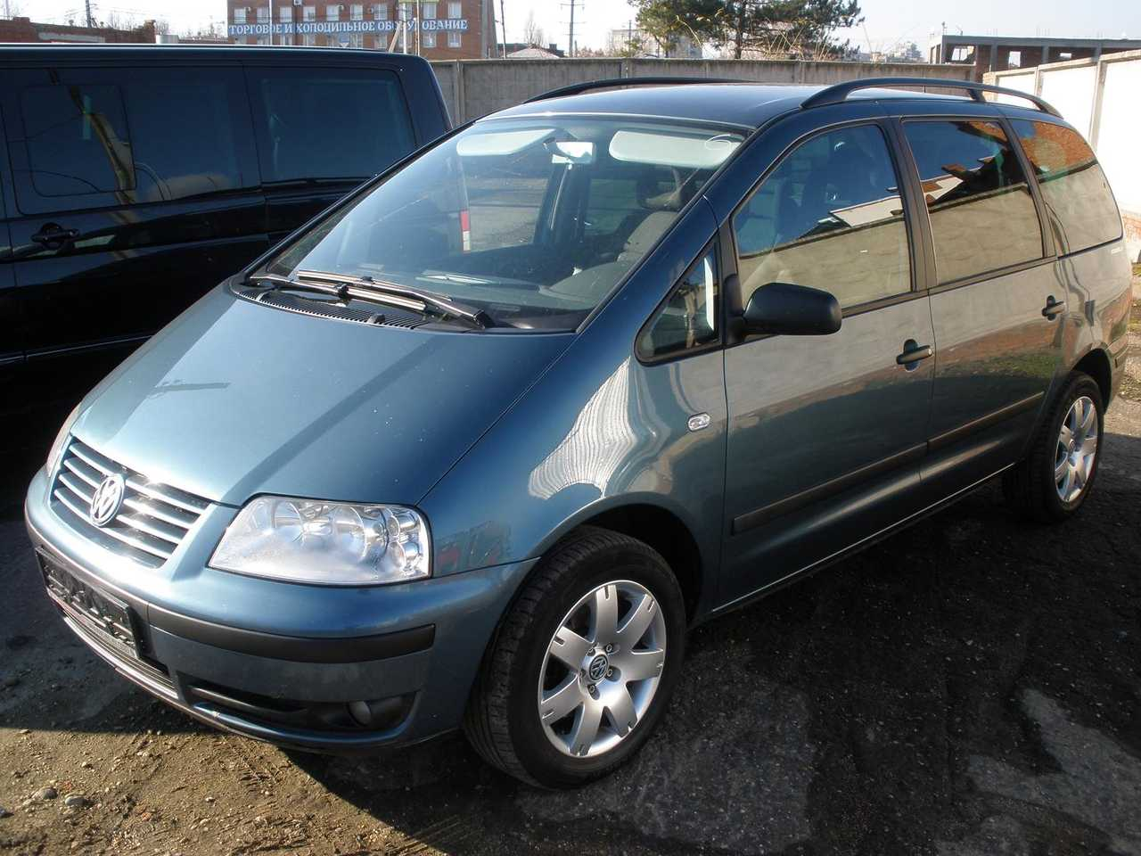 2003 Volkswagen Sharan Specs  Mpg  Towing Capacity  Size  Photos