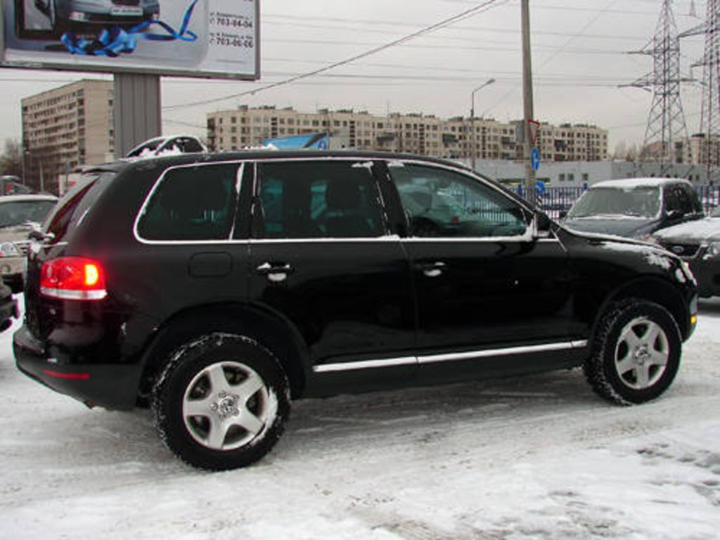 2004 Volkswagen Touareg Pictures For Sale