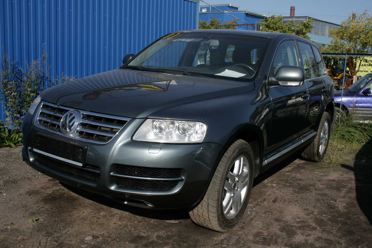 2004 volkswagen touareg pictures 4200cc for sale. Black Bedroom Furniture Sets. Home Design Ideas