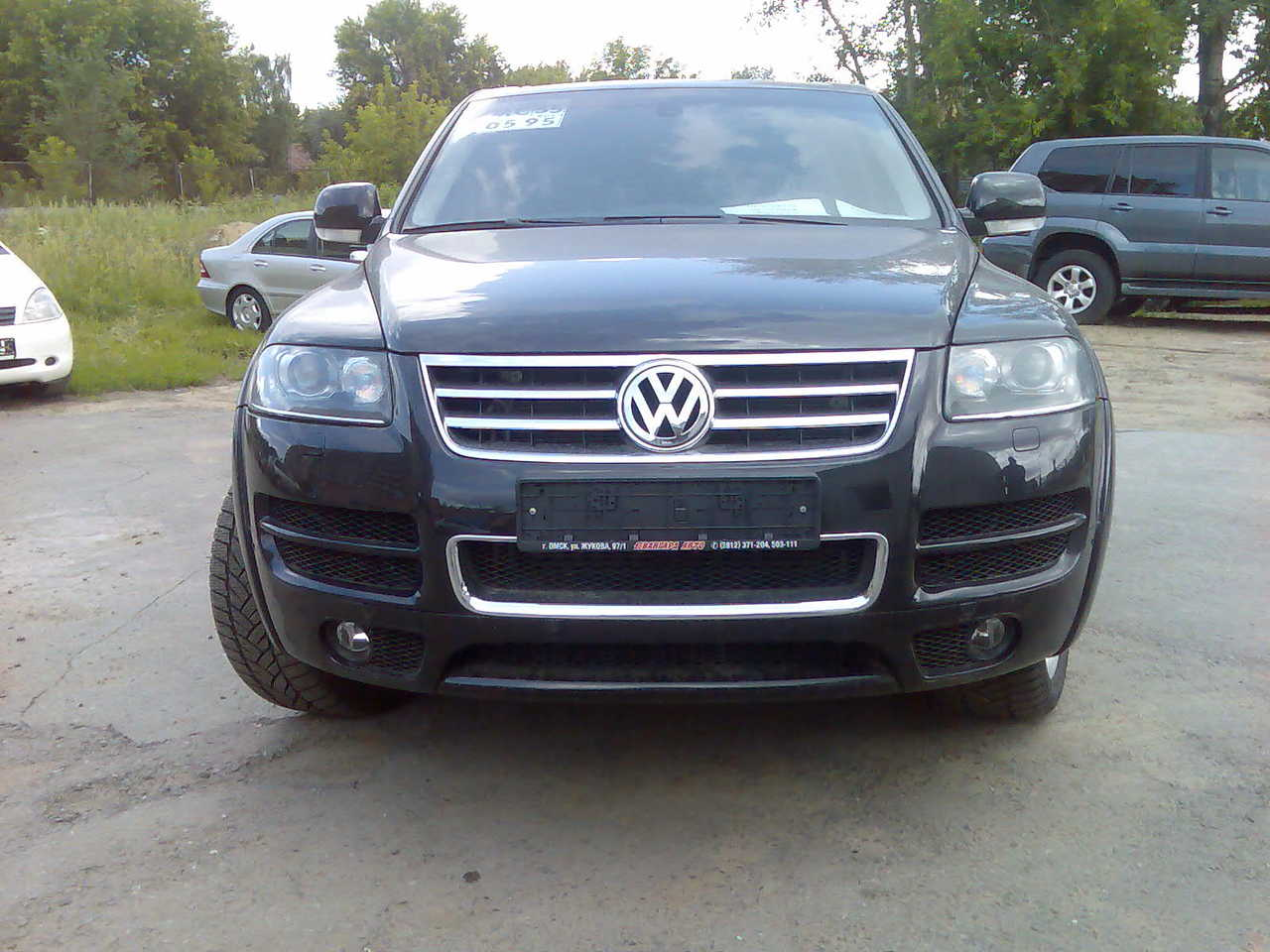 used 2006 volkswagen touareg photos 4200cc gasoline automatic for sale. Black Bedroom Furniture Sets. Home Design Ideas