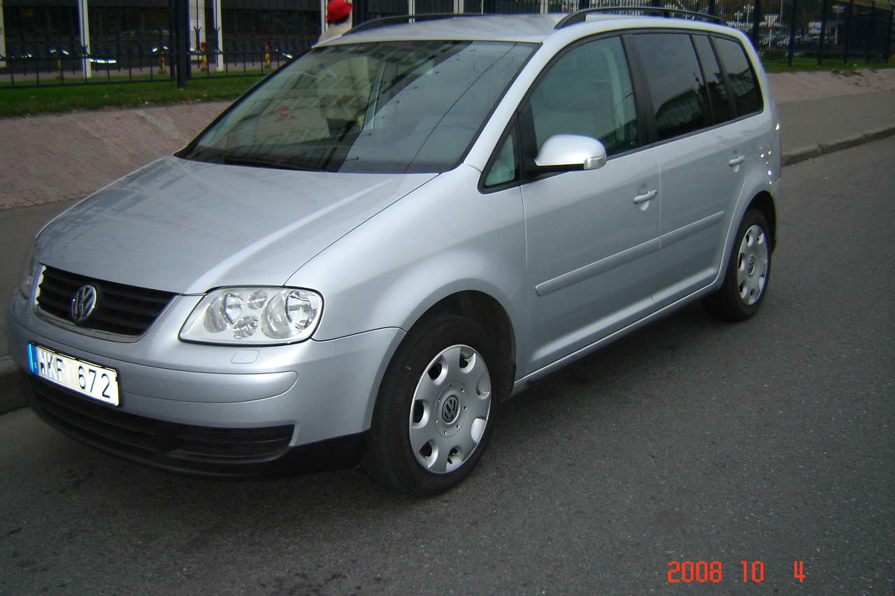 2005 volkswagen touran images 1900cc diesel ff automatic for sale. Black Bedroom Furniture Sets. Home Design Ideas