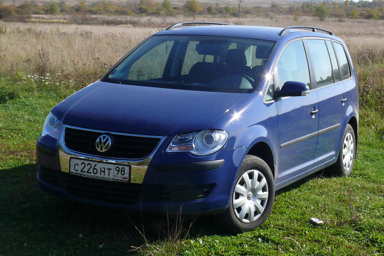 2007 volkswagen touran pictures 1600cc gasoline ff manual for sale. Black Bedroom Furniture Sets. Home Design Ideas