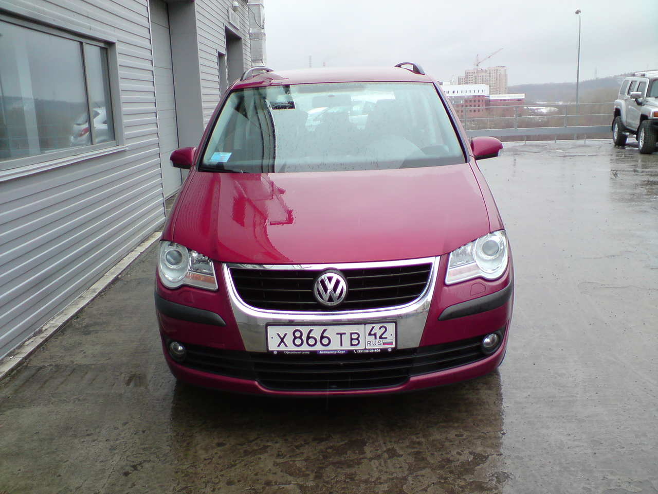 2008 volkswagen touran photos 1 4 gasoline ff automatic for sale. Black Bedroom Furniture Sets. Home Design Ideas