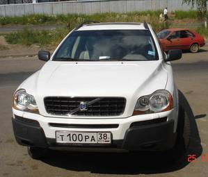 2003 volvo xc90 pictures gasoline for sale. Black Bedroom Furniture Sets. Home Design Ideas