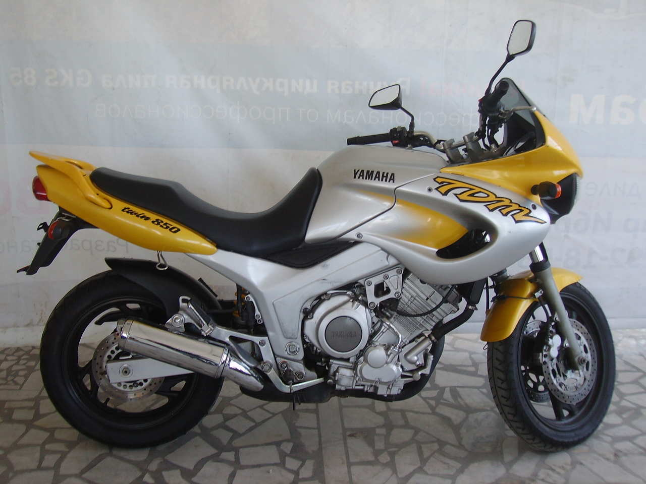 1998 Yamaha TDM Pictures, 850cc. For Sale