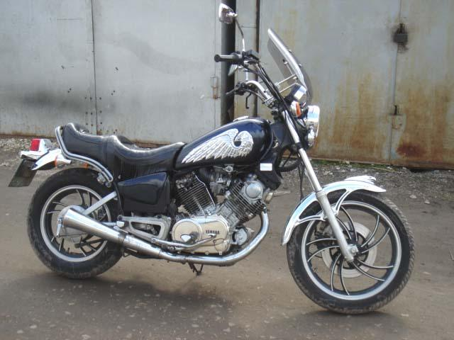 1985 Yamaha Virago Pictures, 750cc. For Sale on