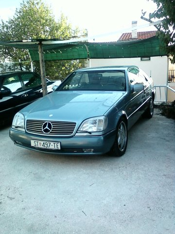 1993 Mercedes Benz Cl500 Solving Car Problems Sec Cl500