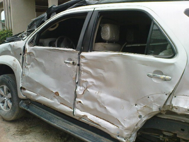 2008 Toyota Fortuner Ghana - Solving Car Problems / accident
