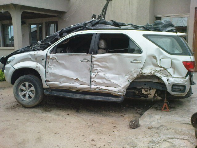 2008 Toyota Fortuner Ghana Solving Car Problems Accident