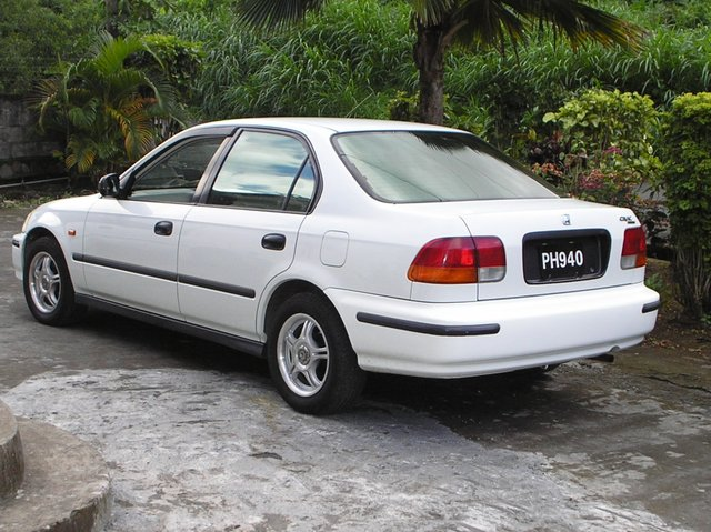 honda car 1998. photo honda civic ferio car 1998 9